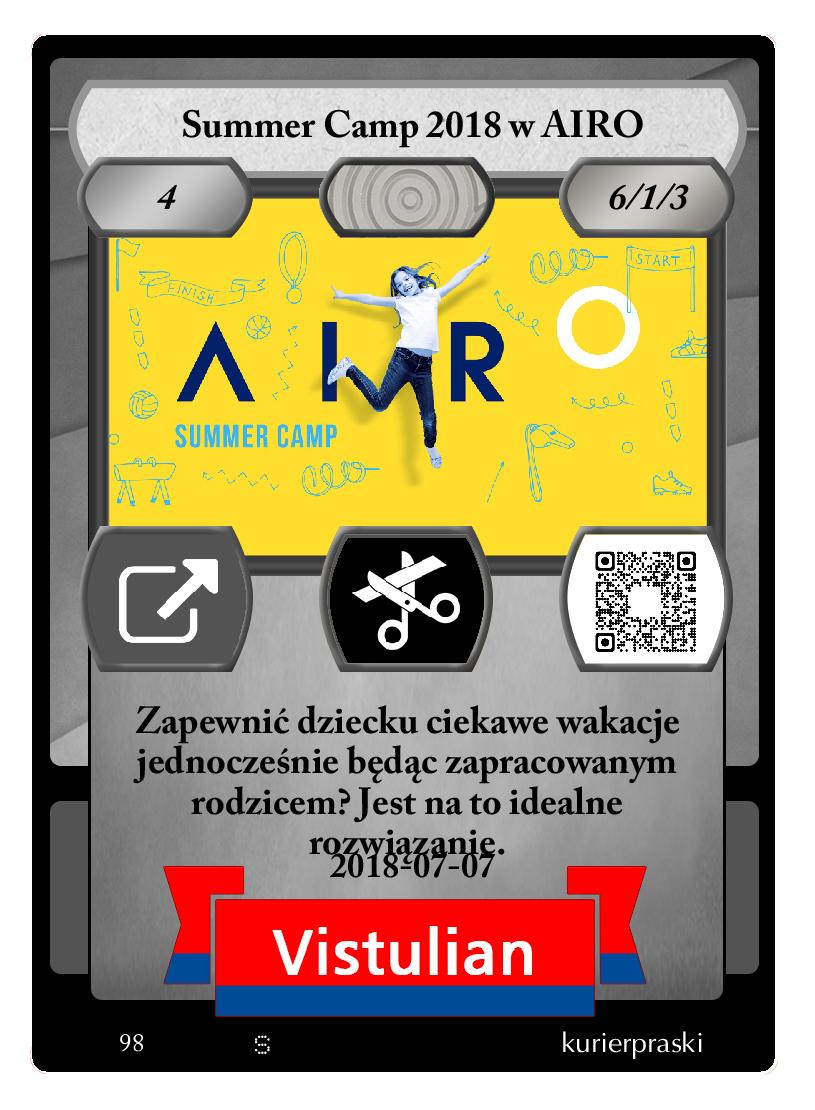 Summer Camp 2018 w AIRO